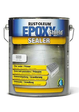 RUSTOLEUM EPOXYSHIELD CLEAR SEALER/PRIMER - 5L