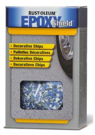 RUSTOLEUM EPOXYSHIELD DECORATIVE FLAKES - 0.43kg
